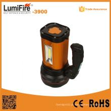 3900 lâmpada portátil holofote USB portátil de energia recarregável lanterna LED exterior USB luz LED