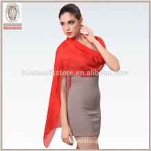 Wholesale lady long silk chiffon palestine scarf
