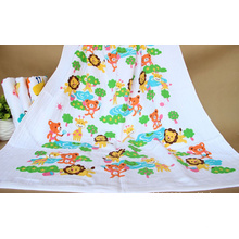 Baby Muslin Swaddling, Baby Bath Towel with 75X150cm