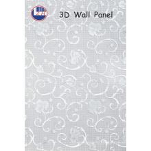 Paneles de pared 3D de flores para la decoración del hotel