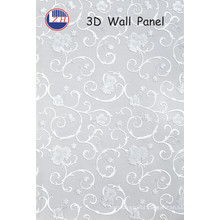 Flower 3D Wall Panels for Hotel Decoration