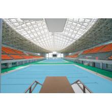 Vorgefertigtes Stahlbinderdach für Swimmingpool