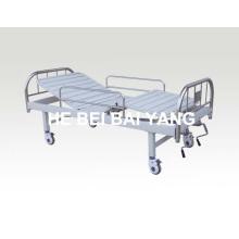A-131 cama de hospital móvel de dupla função