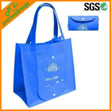 Eco friendly reusable foldable pp non woven shopping tote bag (PRF-804)