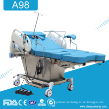 A98 Hospital Gynecological Parturition Delivery Bed Table