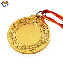 Medallas de oro en blanco con grabado gratuito