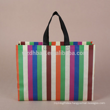 Reusable Best selling Hot Wholesale Non Woven With Lamination Shopping Bag Ultrasonic Weld