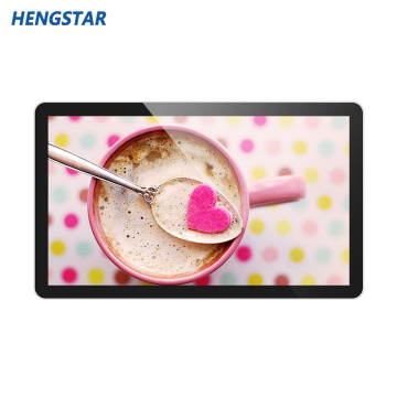 42 Inch LCD Panel Wall Hanging Mesin Periklanan