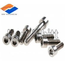 Ti6AI4V titanium hex socket head screw