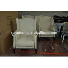 Elegant tub shape arm sofa chair XYD173