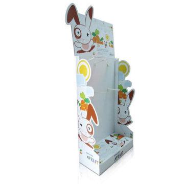 Caramelo promoción de la pantalla de cartón para el supermercado