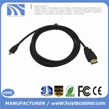 0.3m 1m 1.5m 2m 3m 5m 1ft 3ft 5ft 10ft 15ft MICRO HDMI к кабелю HDMI с покрытием позолоченные для сотовых телефонов для win8 4kx2k