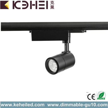 Lumières de piste de Dimmable Black 7W LED