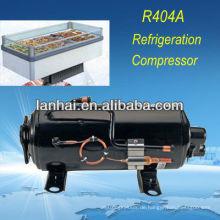 Tiefkühlschrank für Gewerbe mit CE RoHS R404A hermetischer horizontaler Gefrierschrank Kompressor 1hp