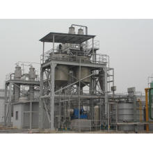 double-effect falling film industrial evaporator