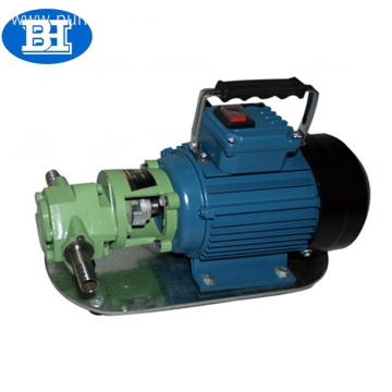 WCB small double gear pump portable oil pump electric diesel transfer pump