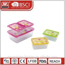 В кристаллизаторе печати прямоугольника пищевых контейнеров набор 5шт