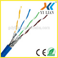 LAN Cable Cat7 Shielded Gold Plated 10Gbps Black Ethernet Patch Network Cable