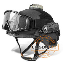 Ballistic capacete conjunto de Kevlar com Nij Iiia