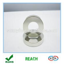 anneau magnétique nickel revêtement N35