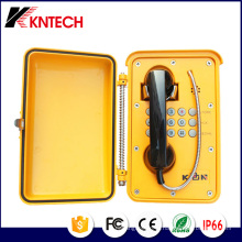 Открытый и атмосферостойкий Телефон Knsp-01t2s от Kntech