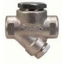 Thermodynamic Steam Trap With Inbuilt Strainer