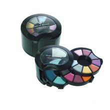 High quality plastic eyeshadow multi-colors eyeshadow for cosmetics