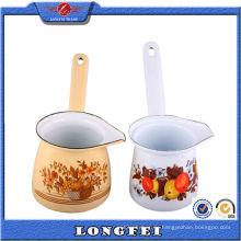 Schöne Dekoration Emaille Bunte Keramik Kaffee Set Geschenke