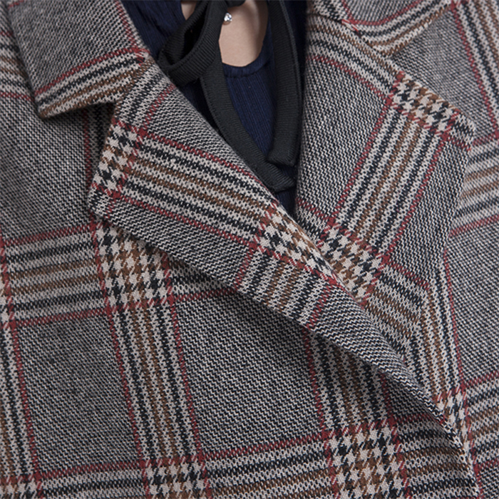 New styles big pocket cashmere overcoat
