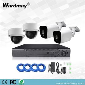 CCTV 4CH 5.0MP Starlight PoE IP-camerasysteem