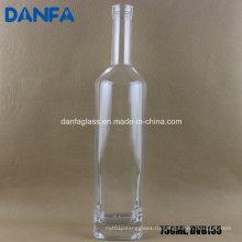 750 мл бутылка с белым стеклянным ликером с бартоком