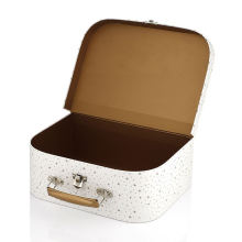 High quality luxury toy/candy paper packaging boxes children cardboard suitcase box