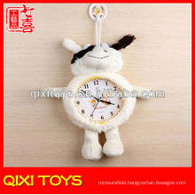 christmas decoration mechanism for plush wall clock
