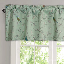 Bedroom Blackout Rod Pocket Top Window Curtain Valances