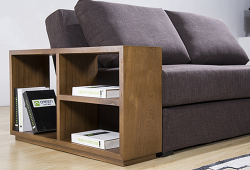 Fabric Storage Sofa Bed