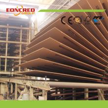 E1 Möbel Plain MDF Board in Bangladesch Markt / HDF