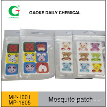 Mosquito Paster with Cartoon Design