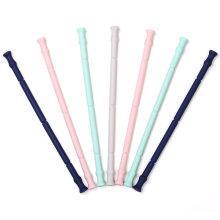 Многоразовые соломинки с чехлом для ключей / Многоразовые соломинки, которые складываются в Bpa Free Portable