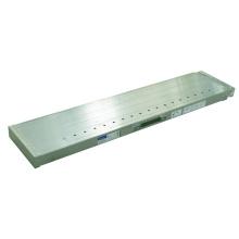 Prancha de escada de alumínio extensível