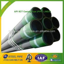 API 5CT Tubo de revestimento (PIPE LINER)