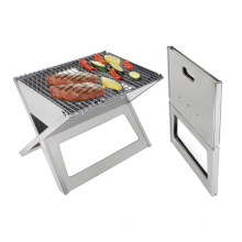 X Shape BBQ / Portable Stainless Steel BBQ Grill