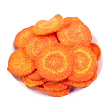 Factory price Standard Dehydrated Carrot Chips Dried Carrot Slices