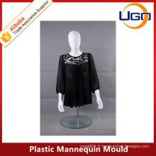 Moule mannequin en mousse demi-corps en plastique blanc Mould