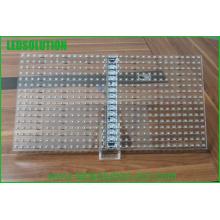 Exposição de diodo emissor de luz de vidro transparente interna completa da cor P20