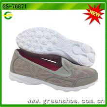 Neue Ankunft Breathable Beleg auf Schuhen für Frauen (GS-76871)