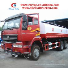 SINOTRUK 6X4 water tanker 20cbm 20000 litros camião cisterna de água à venda