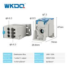 Распределительная коробка UKK на DIN-рейку