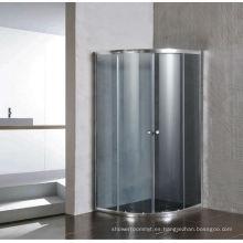 Pantalla de cristal gris simple de la ducha sin bandeja (E-01Grey)
