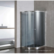 Grey Glass Simple Shower Room Screen Without Tray (E-01Grey)