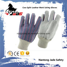 Cheapest Cowhide Split Leather Industrial Hand Safety Work Glove